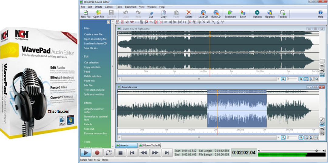 WavePad Sound Editor Keygen Full Crack